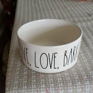 Rae Dunn dog bowl medium size